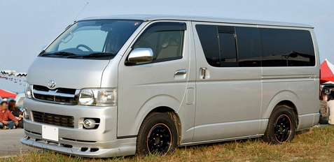 Hiace Microbus Hire