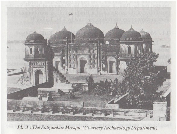 The Satgumbaz Mosque