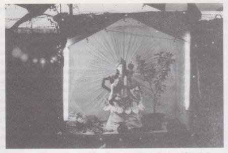Saraswati Family altar Dhakeswari Temple