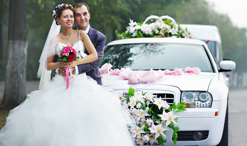 Cover the marriage ceremony with latest valuable Vehicles