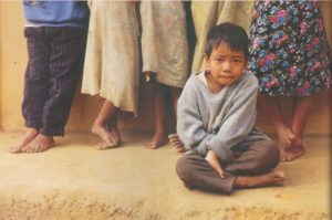 Bangladeshi child of villages