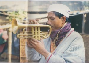 Bangladeshi plays Trumpet