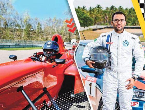 Car racer Avik Anwar