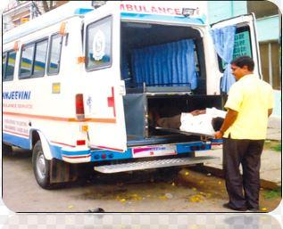 Freezer ambulance service